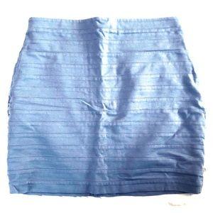 Express gray bandage skirt